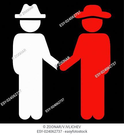 Fellow Handshake Icon