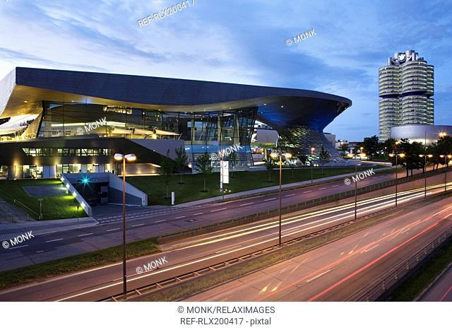 BMW World complex in Munich, Bavaria, Germany