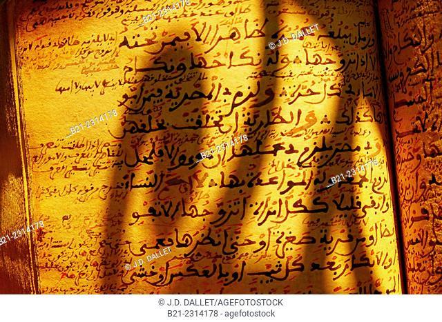 18th century book in Arabic. Religion-law