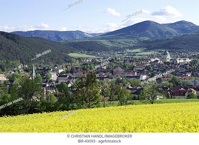 Berndorf seen from Kremesberg Lower Austria Austria