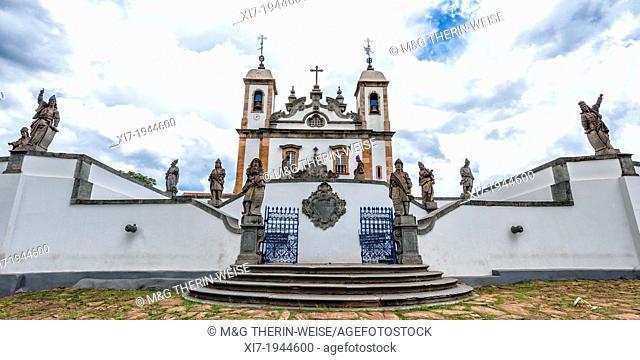 Santuario de Bom Jesus de Matosinhos, Aleijandinho masterpiece, Congonhas do Campo, Minas Gerais, Brazil