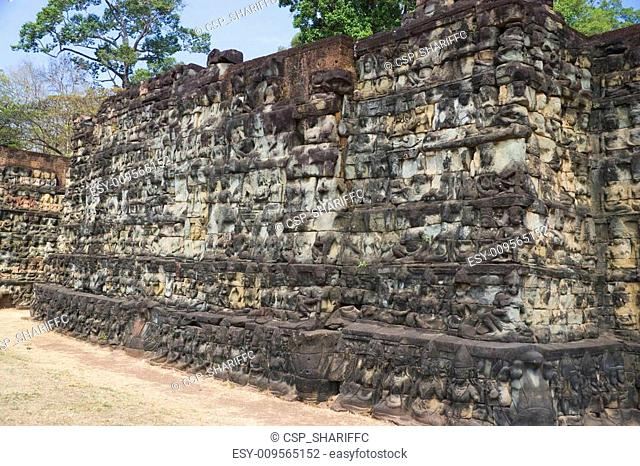 Terrace of the Leper King, Cambodia