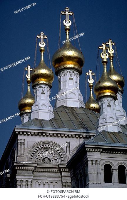 traditional, orthodox, switzerland, geneva, church, russian