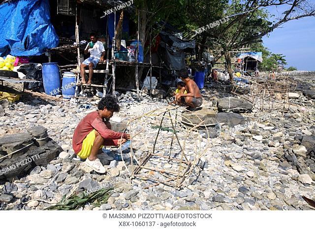 Village in Phi Phi Island, Thailand