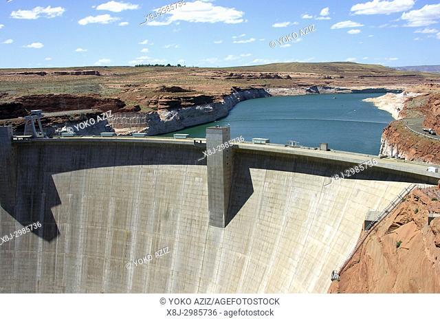 dam, lake Powell, Arizona, United States of America