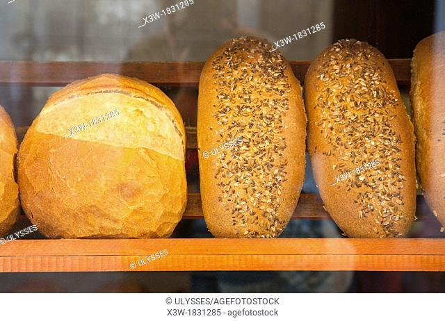 asia, turkey, central anatolia, ancient town of safranbolu, bakery, bread