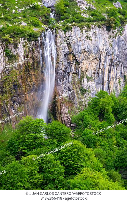 Parque natural de los Collados del Ason. Cantabria, Northern Spain