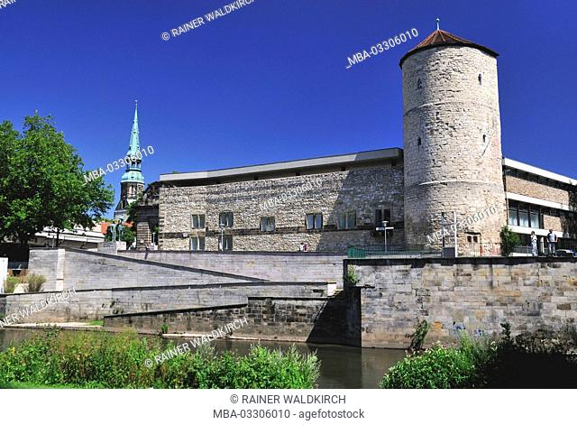Hannover, Lower Saxony, Old Town, lay female nurse's tower, 14. Cent., on the high shore in the rope
