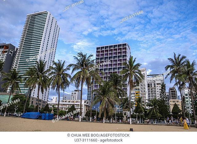 Asia, Vietnam, Nha Trang, Nha Trang Beach, Beach, Beaches, Coast, Coastal, Sea, Skyline