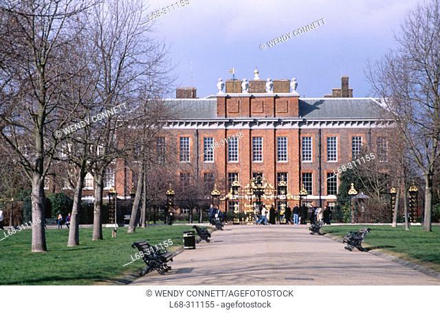 Kensington Palace. London. England. UK