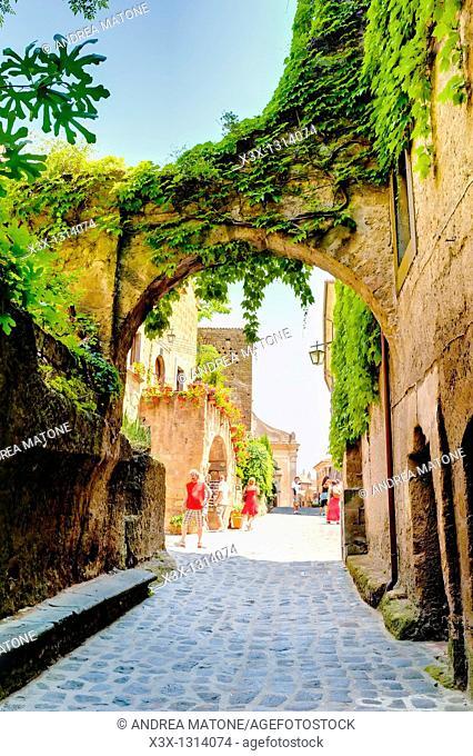 Civita di Bagnoregio Latium Italy