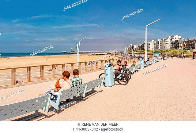 Beach promenade, pier