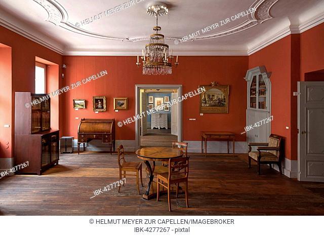 Work and meeting room, Upper Lusatian Society of Sciences, Görlitz, Saxony, Upper Lusatia, Germany