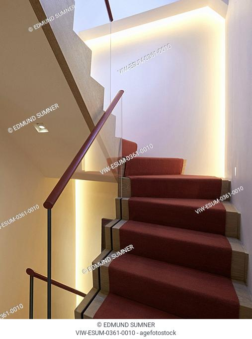 Staircase. Private residence, London, United Kingdom. Architect: PTP , 2017