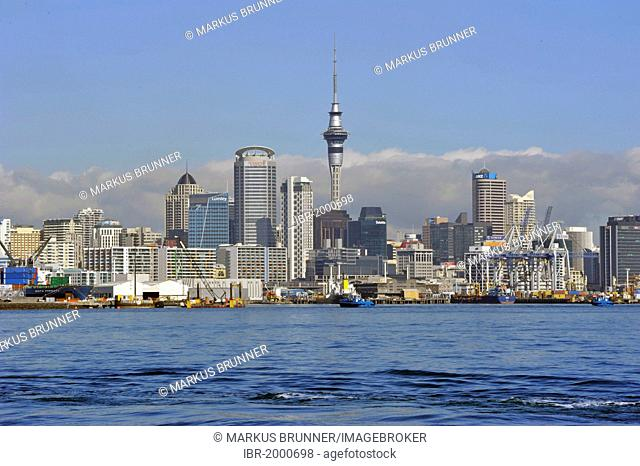 Skyline as seen from Devonport, Auckland, New Zealand