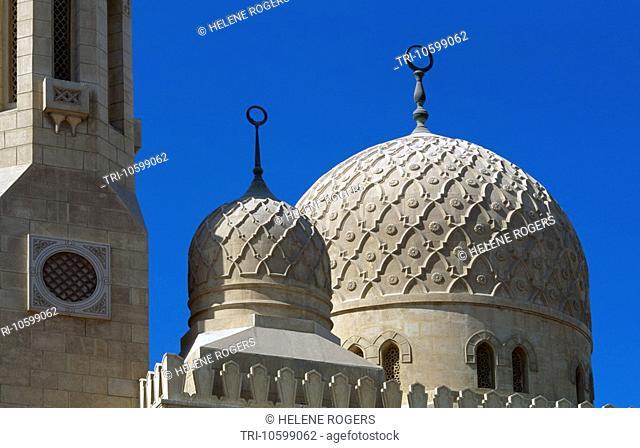 Dubai UAE Jumeira Mosque Domes