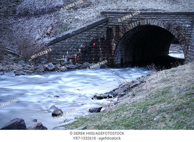 River passage, Pennsylvania