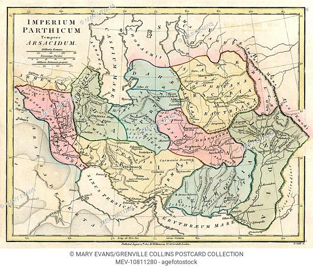 Map of the ancient persian empire Stock Photos and Images   age ...