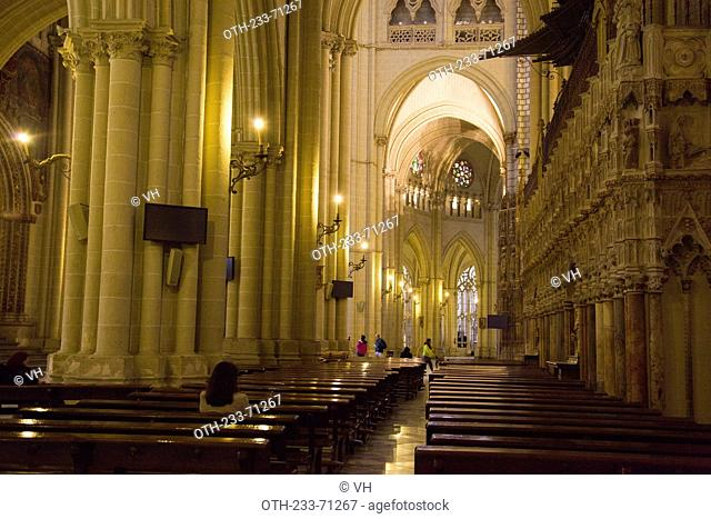 The Primate Cathedral of Saint Mary, XIII-XV centureis, Toledo, Castilla la Mancha, Spain, Europe