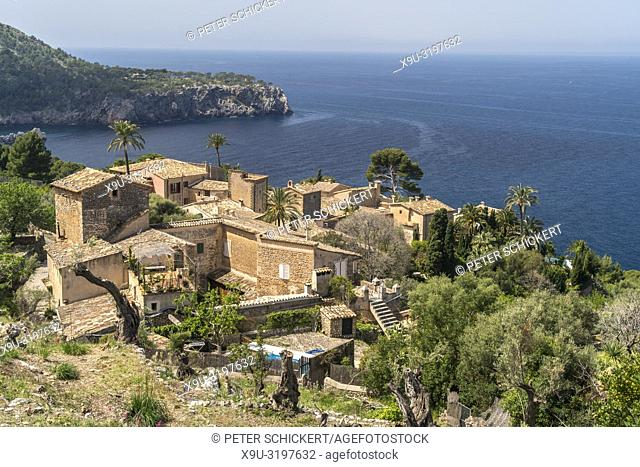 Llucalcari, Deia, Serra de Tramuntana, Majorca, Balearic Islands, Spain