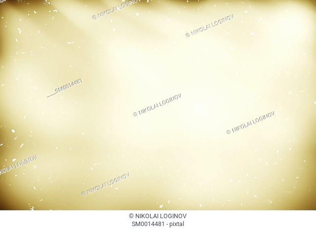 Sepia vintage paper with dust particles background hd