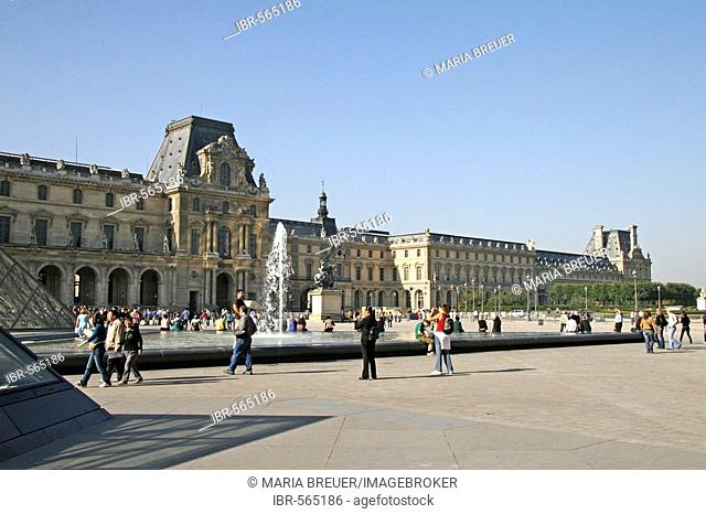 Louvre, Denon wing, Paris, France