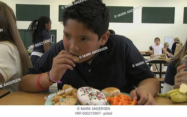 junk food at school