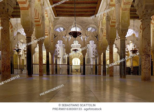 Interior view of the Mezquita Catedral, Cordoba, Andalusia, Spain, Europe / Innenansicht der Mezquita-Catedral, Cordoba, Andalusien, Spanien, Europa