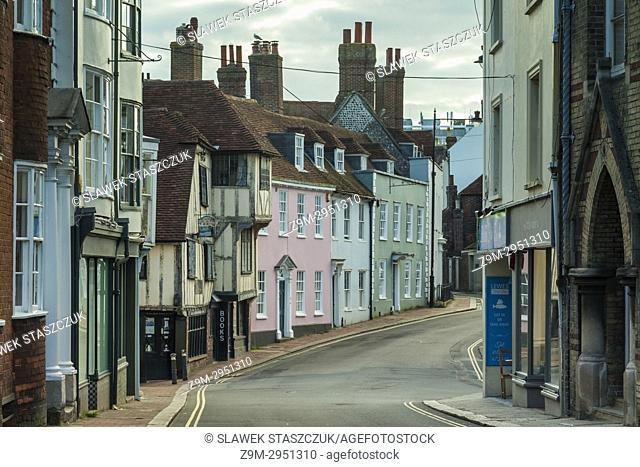 Afternoon in Lewes, East Sussex, England