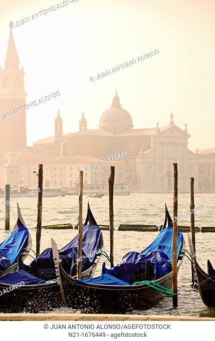 Gran Canal, Venice, Veneto, Italy, Europe