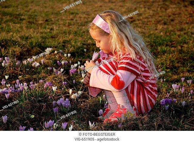 girl in spring meadow. - 29/02/2008