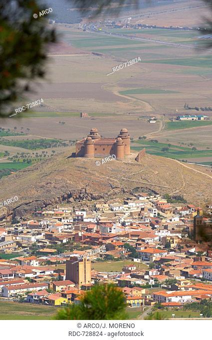 La Calahorra, Renaissance castle. LA calahhora Castle, Granada province, Andalusia, Spain