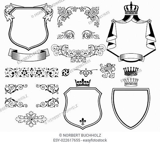 Traditionelle Design Elemente
