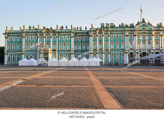 Winter Palace, Palace Square, St Petersburg, Russia