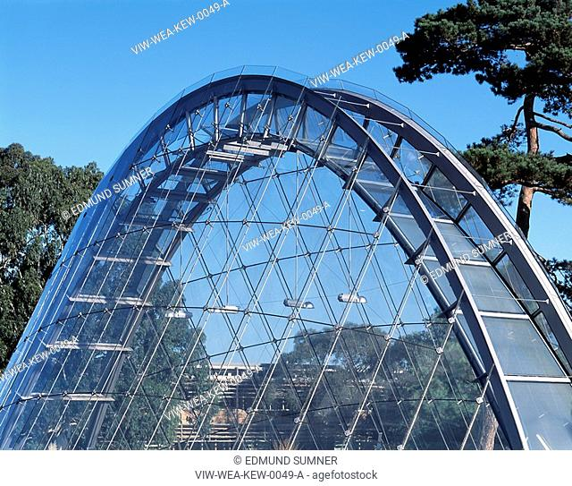 DAVIES ALPINE HOUSE KEW GARDENS, LONDON, UK, WILKINSON EYRE ARCHITECTS, EXTERIOR, OVERALL EXTERIOR VIEW