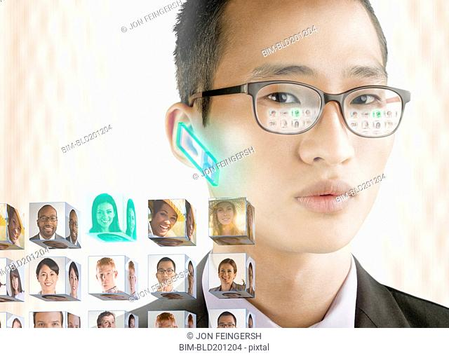 Korean businessman and images of business people