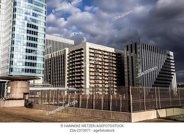 La Défense, Europe's largest purpose-built business district, Paris, France