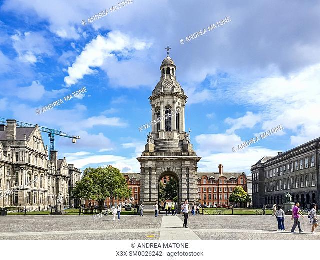 Courtyard Trinity College, Dublin University, Dublin, Ireland
