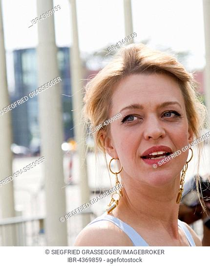 The german actress Heike Makatsch, Lola Festival 2016, Berlin, Germany