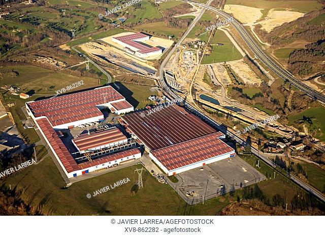 Condesa, metal tubes factory, Legutiano, Alava, Basque Country, Spain