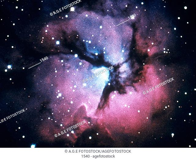 Trifid Nebula in Sagitarius
