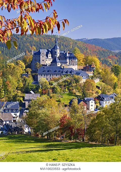 Lauenstein Castle, Ludwigsstadt, Upper Franconia, Bavaria, Germany