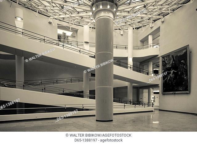 France, Puy-de-Dome Department, Auvergne Region, Clermont-Ferrand, Old Montferrand, Musee d'Art Roger-Quilliot museum, interior