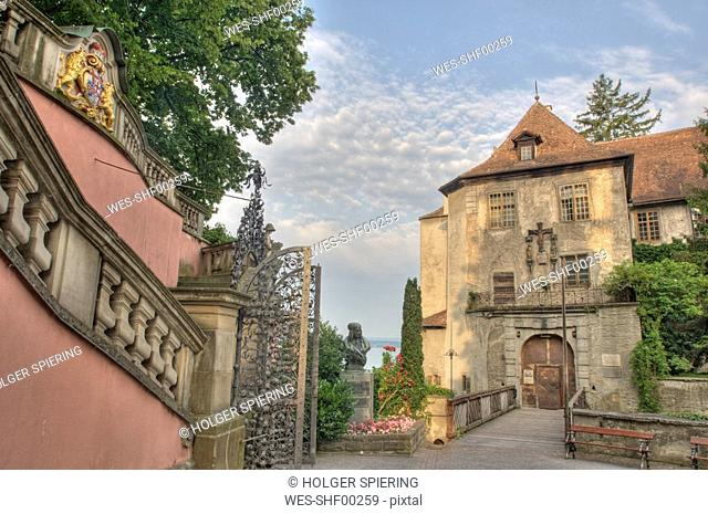 Germany, Baden-Württemberg Castle with Droste Memorial