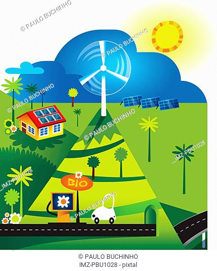 Environmentally friendly forms of energy