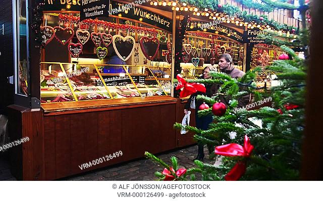 Christmas market in Lübeck