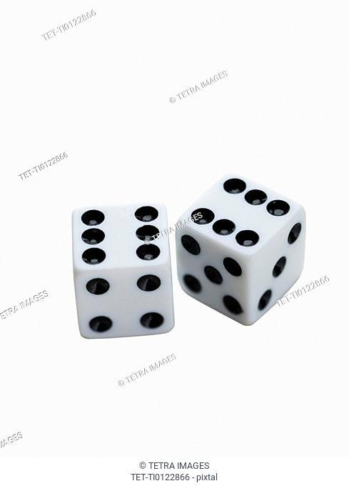 Close up of dice