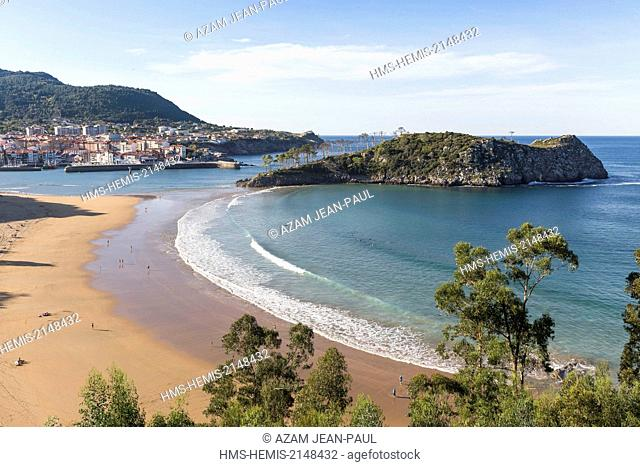 Spain, Vizcaya Province, Basque Country, Lekeitio