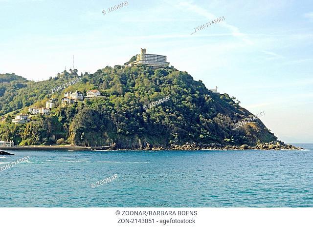 Monte Igueldo, mountain, Berg, San Sebastian, Pais Vasco, Basque Country, Baskenland, Spanien, spain