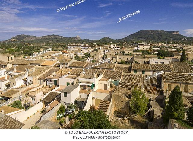 Llucmajor i Sierra de Galdent, Mallorca, Balearic islands, spain